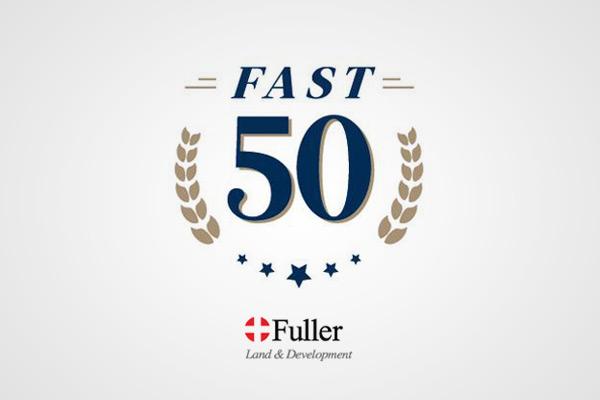 Fuller Land TBG Fast 50 Award